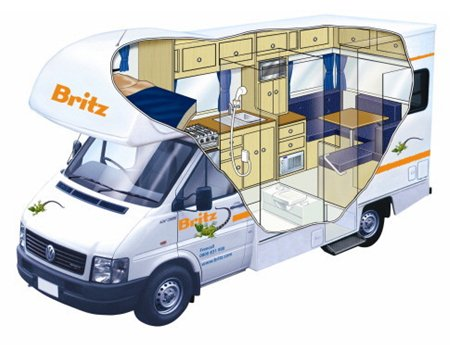family van interior 2 berth camper van hire ireland with vanderlust