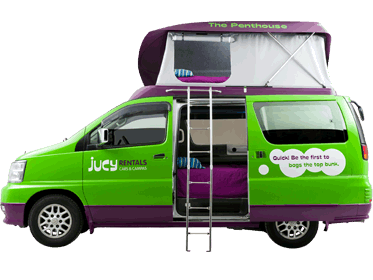Town And Country Camper >> USA - JUCY 4 Berth Camper Van Hire