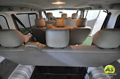 Interior Shuttle Van