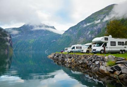cheap campervan hire Scotland