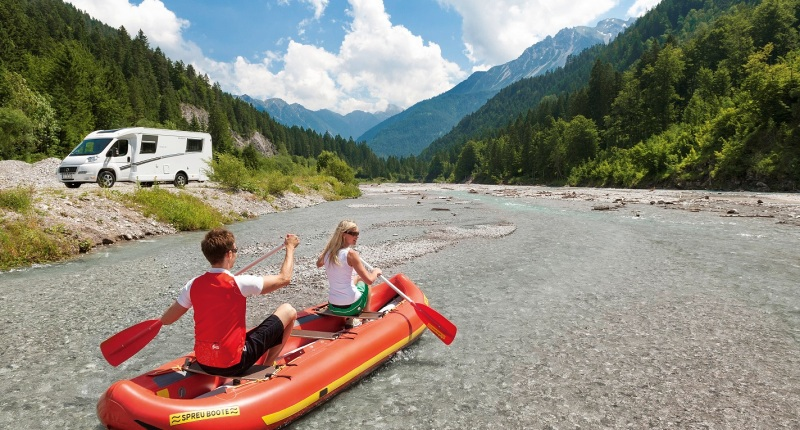 top camping car routes in France