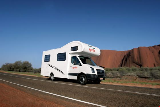 Euro Camper motorhome  4 berth with Apollo-min