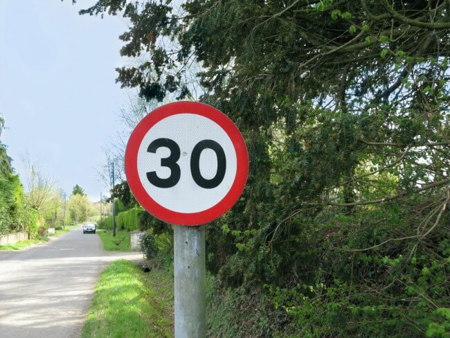 UK Speed Driving Limit
