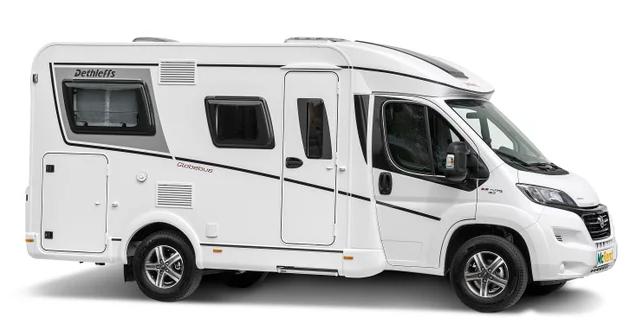 2 berth campervan with shower