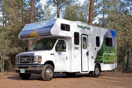 Campervan Hire Canada | RV Rental Canada| RV Rent a Campervan