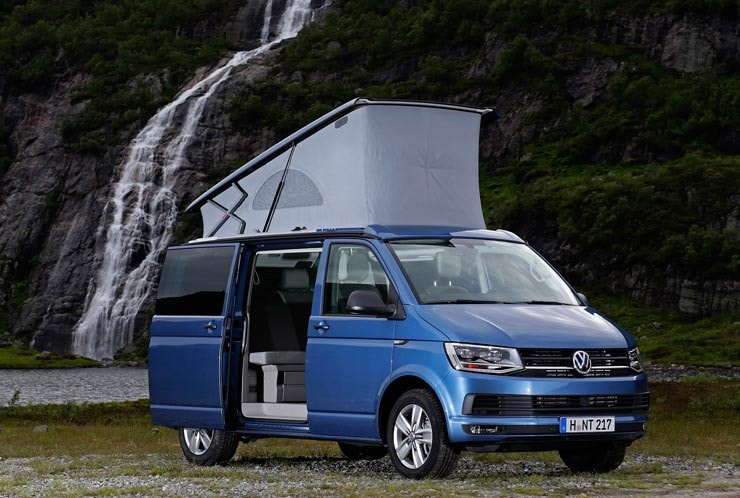 VW Campervan-Hre Scotland